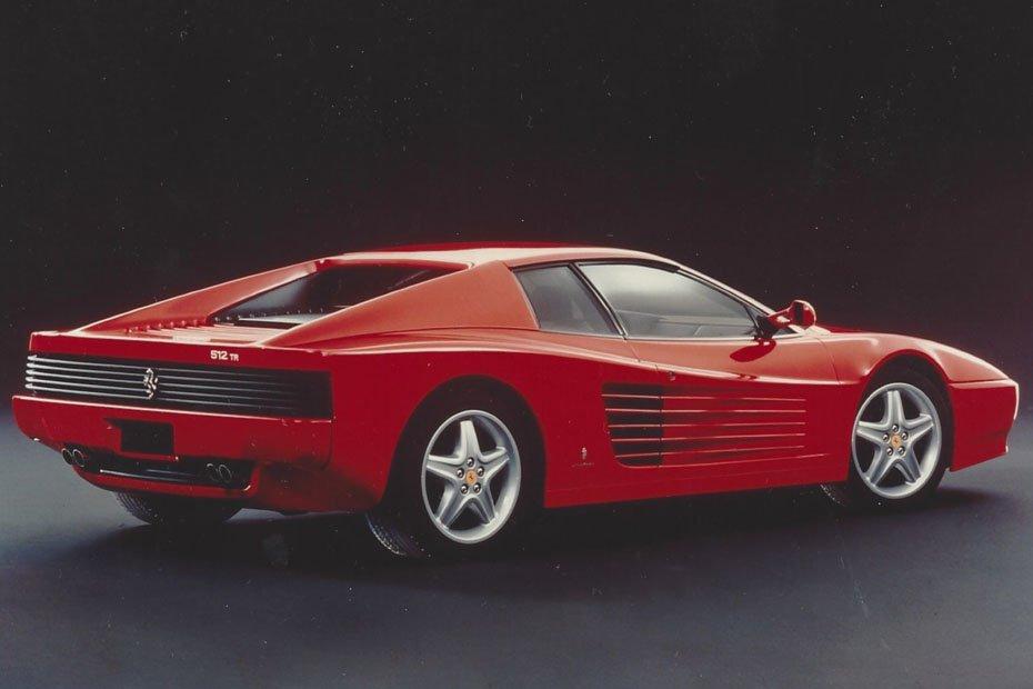 Ferrari Testarossa Häuptling Roter Kopf Heise Autos