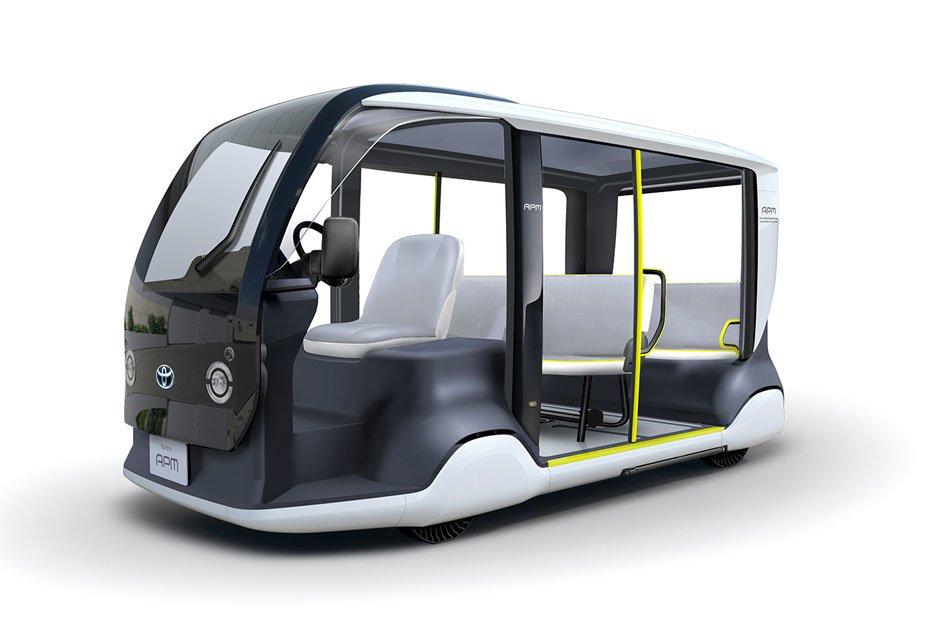 Toyotas Accessible People Mover für Tokio 2020