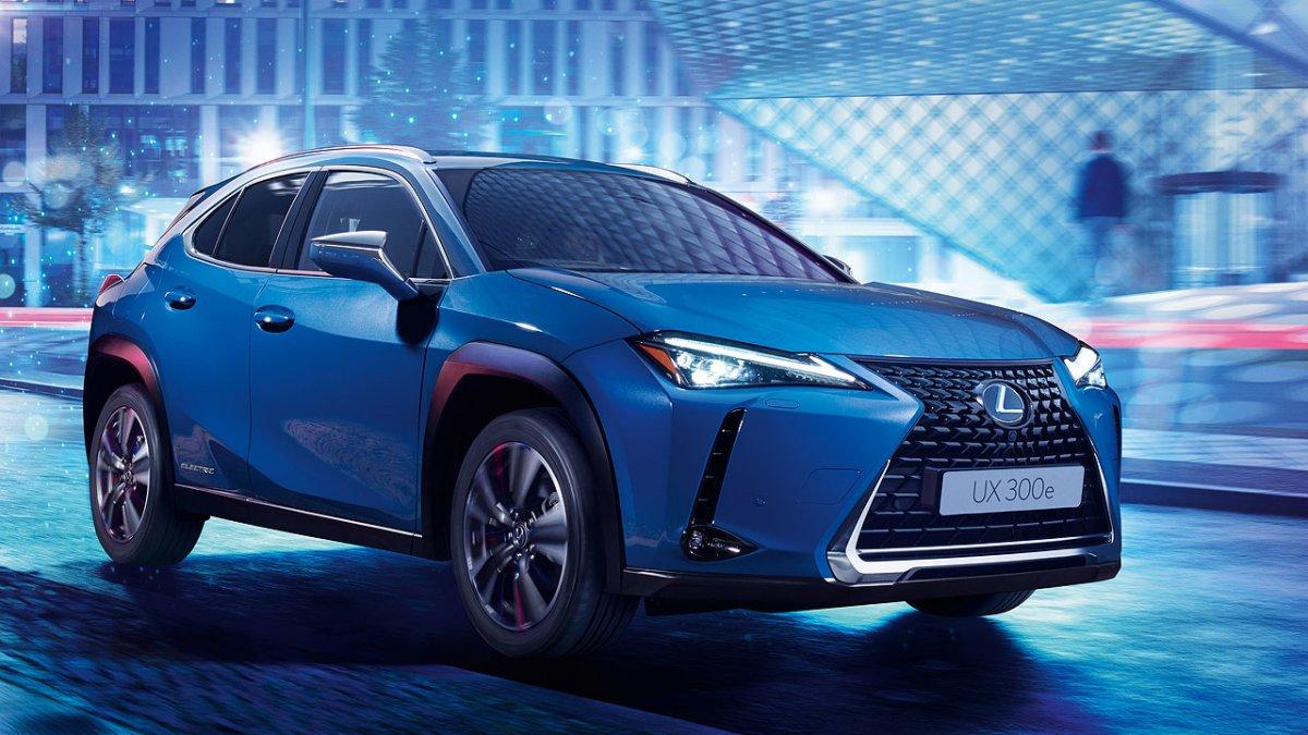 Lexus UX 300e: Toyotas erstes Batterie-Auto