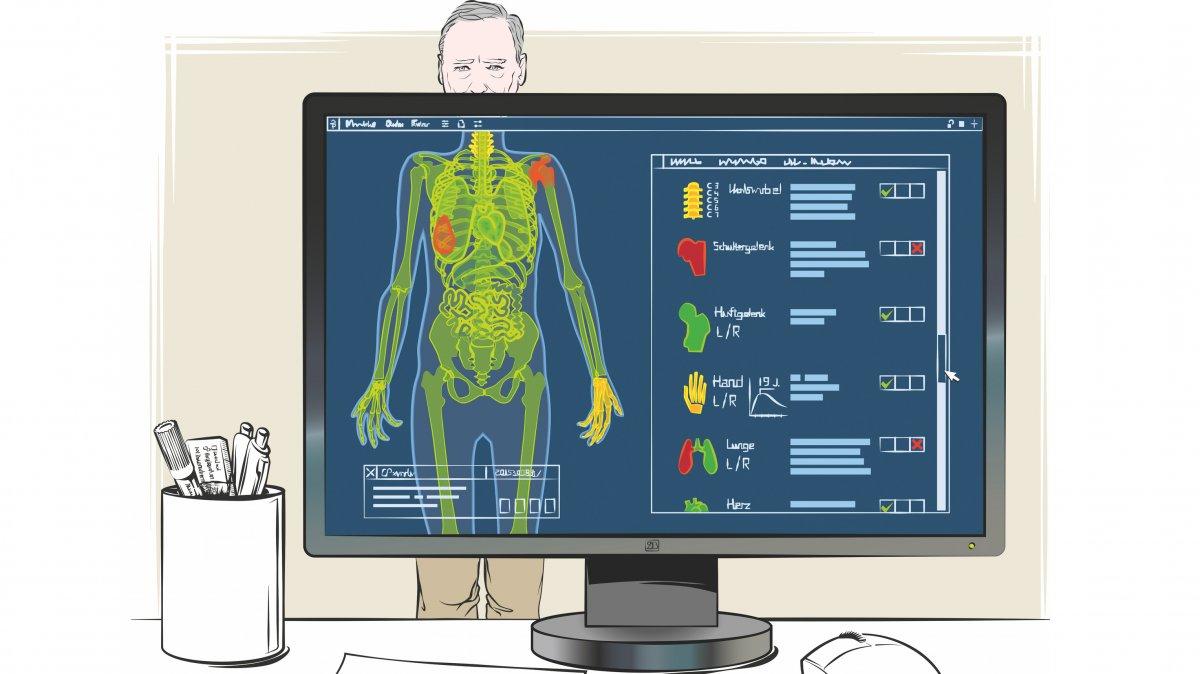Künstlich intelligente Diagnose als zweite Meinung