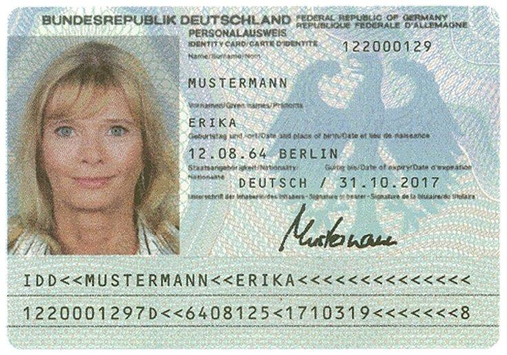 Ausweisnummer Generator Online