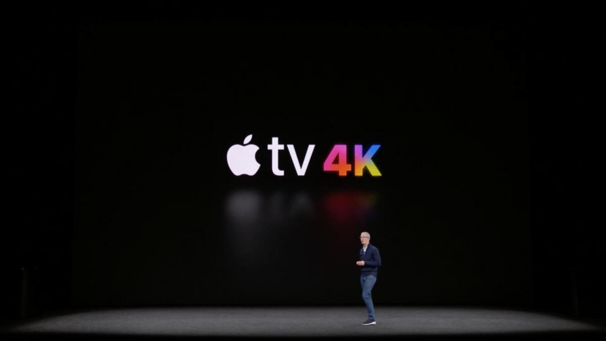 apple tv 4k filme