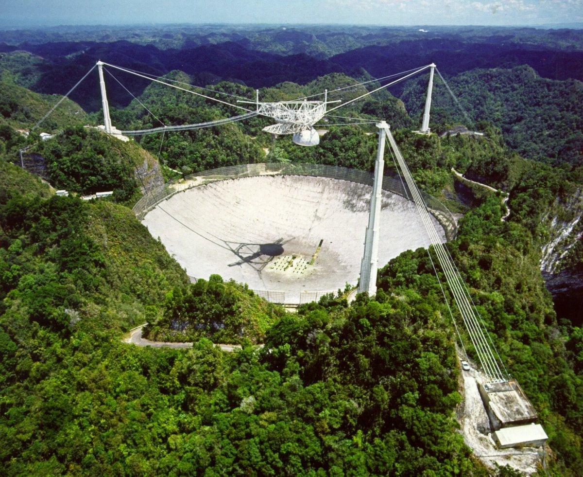 Arecibo Teleskop Vorerst Gerettet Heise Online