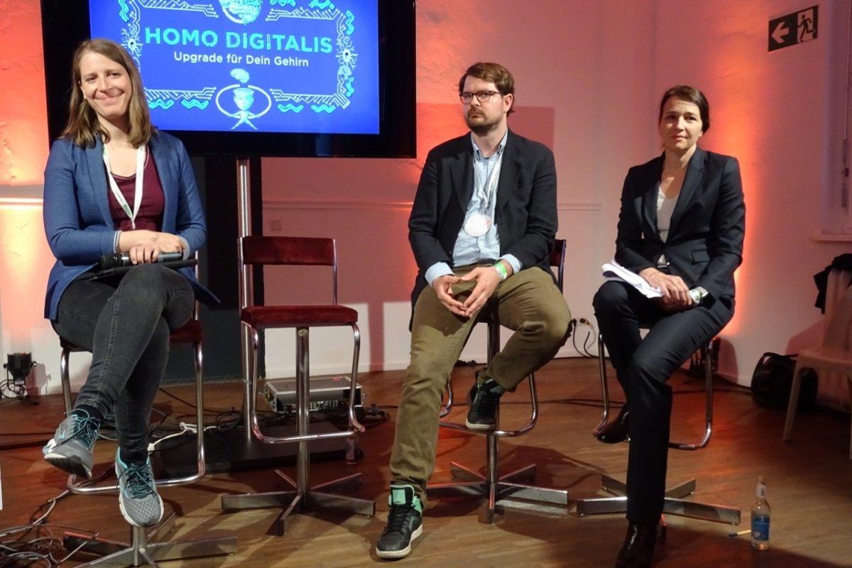 re:publica: Ruf nach Schutz von Hirndaten vor kommerzieller Auswertung