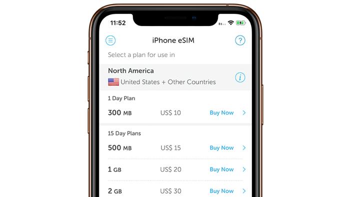 Ausprobiert: eSIM-Nutzung im Ausland mit dem iPhone XS