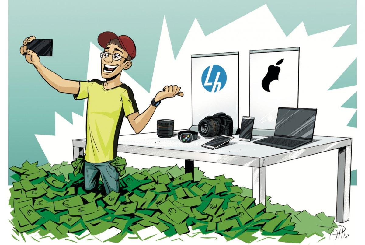 So verdienen Influencer mit Werbung Geld | heise online