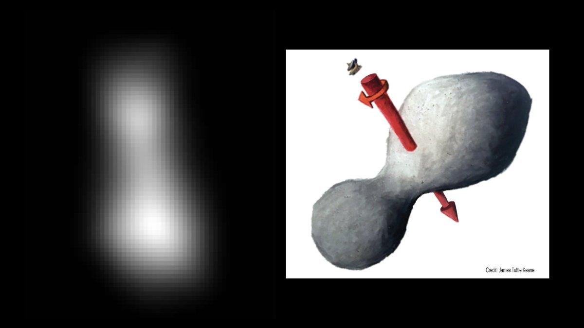 NASA-Sonde New Horizons: Vorbeiflug an Ultima Thule geglückt, ein Rätsel gelöst