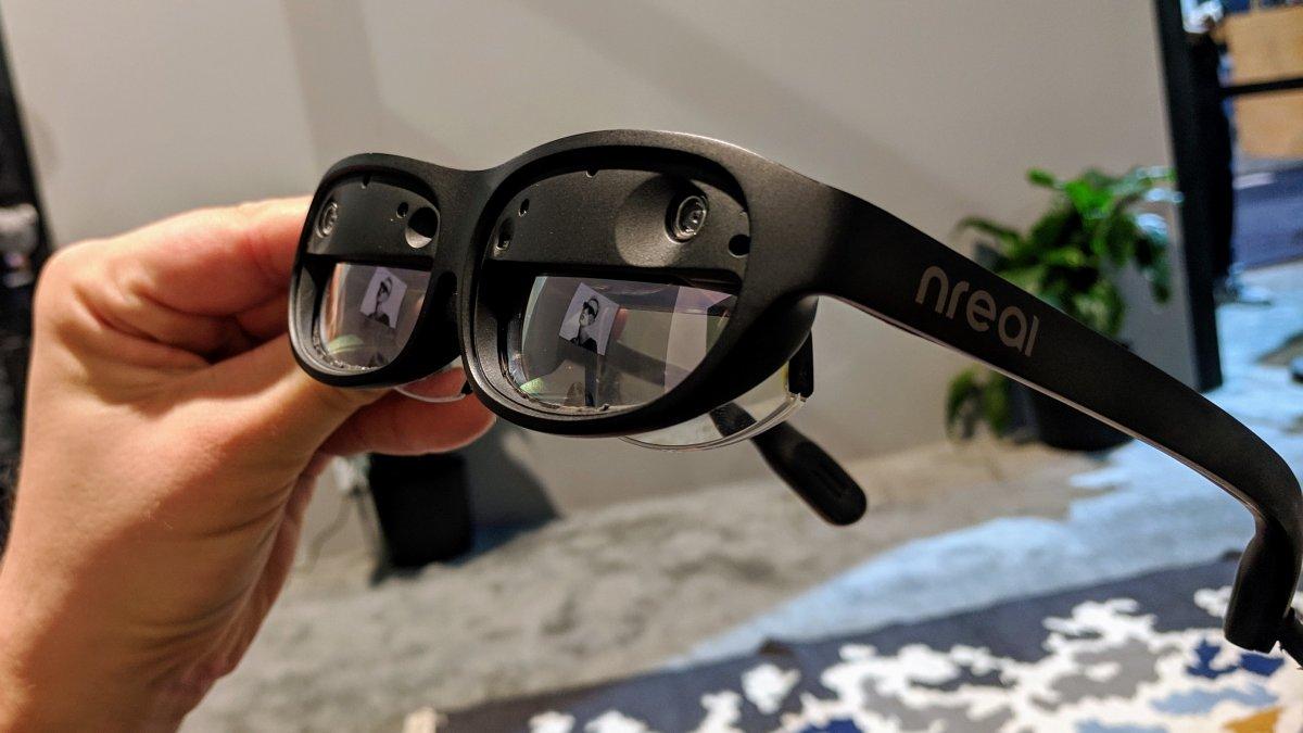 Nreal Light ausprobiert: AR-Headset in Sonnenbrillen-Größe für unter 1000 Dollar