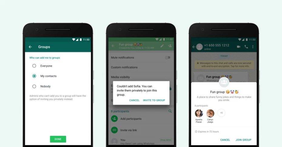 Whatsapp Push Nachrichten