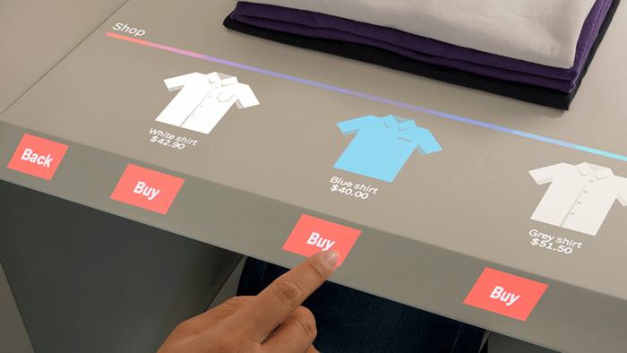 Touchscreens überall: Normale Oberflächen zum Bedien-Interface machen
