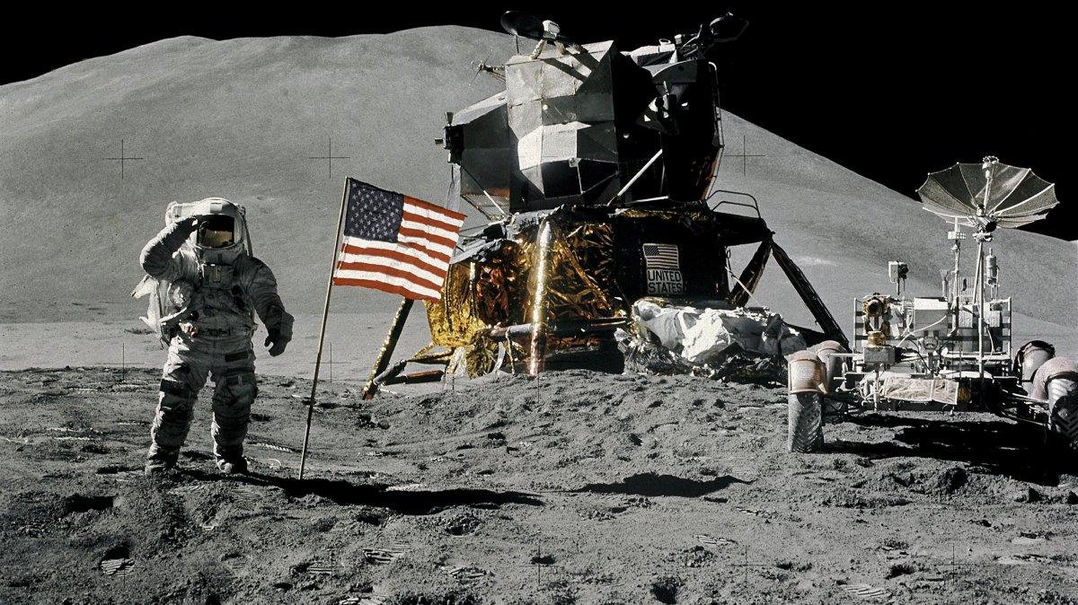 Tollkühne Männer in ihren fliegenden Dosen: Die Apollo-Mondmissionen