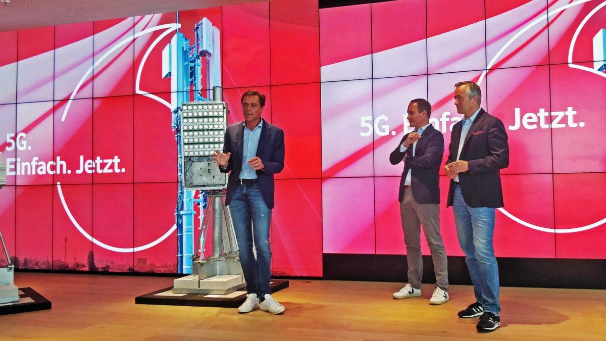 5G-Rollout: Vodafone prescht vor