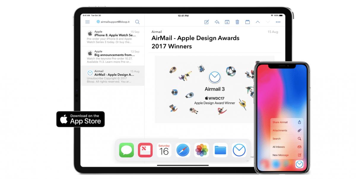 E-Mail-App Airmail: Push-Nachrichten nur noch mit Abo