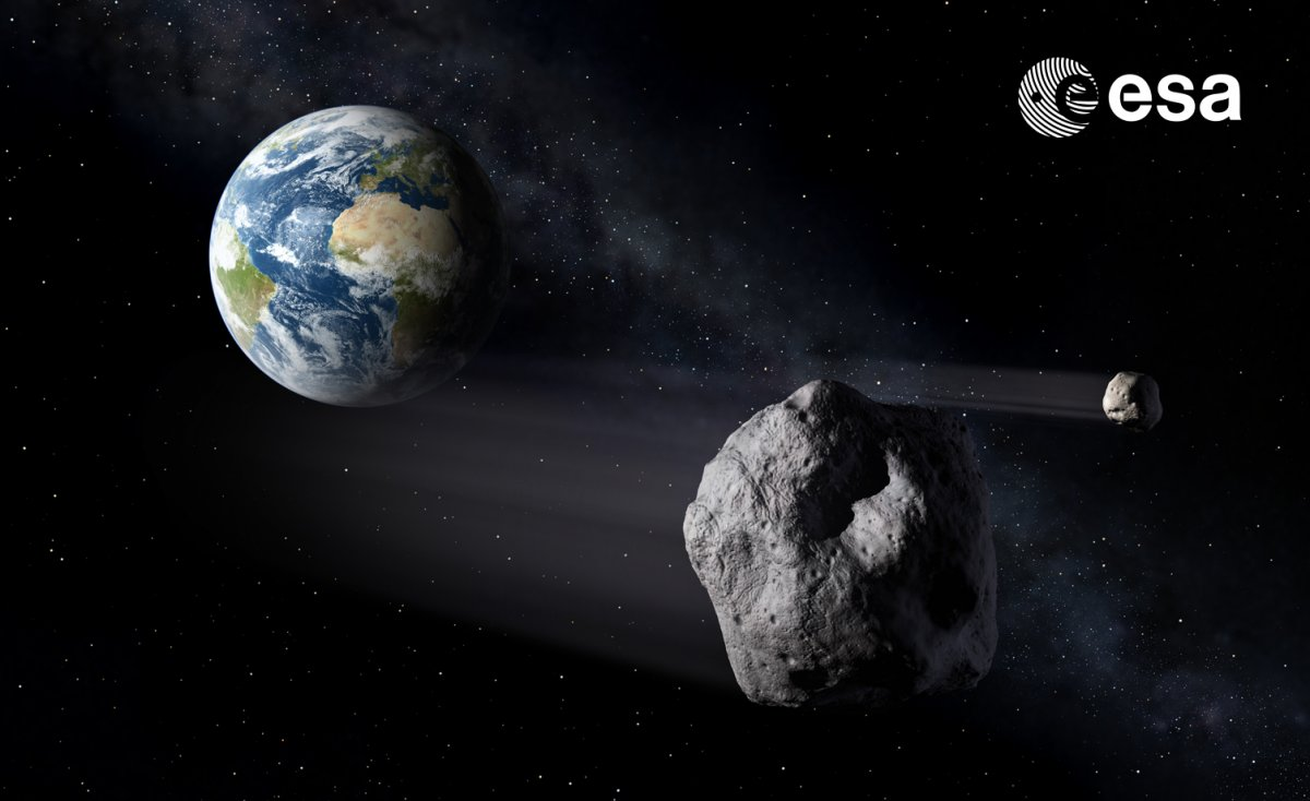 Gefahr aus dem All gebannt – Großer Asteroid verfehlt Erde