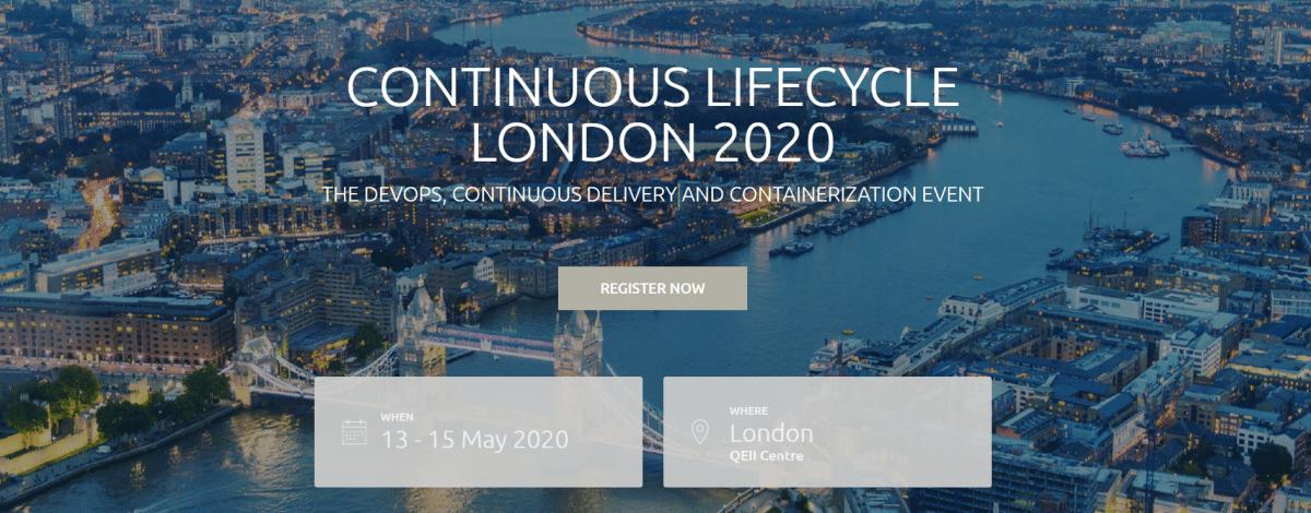 Continuous Lifecycle London: Jetzt mit Vortragsideen bewerben
