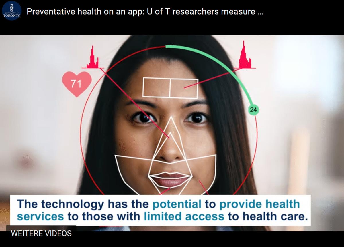 Forscherteam: Mit einem Selfie den Blutdruck messen