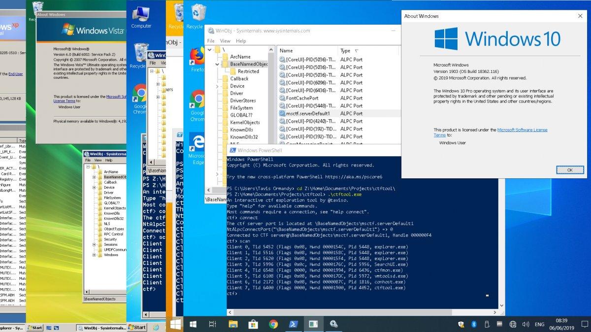 Horror aus der Windows-Steinzeit: Über die Texteingabe-Hilfe zum Admin