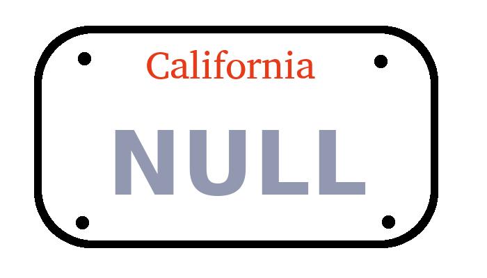 l+f: NULL ist ein notorischer Falschparker