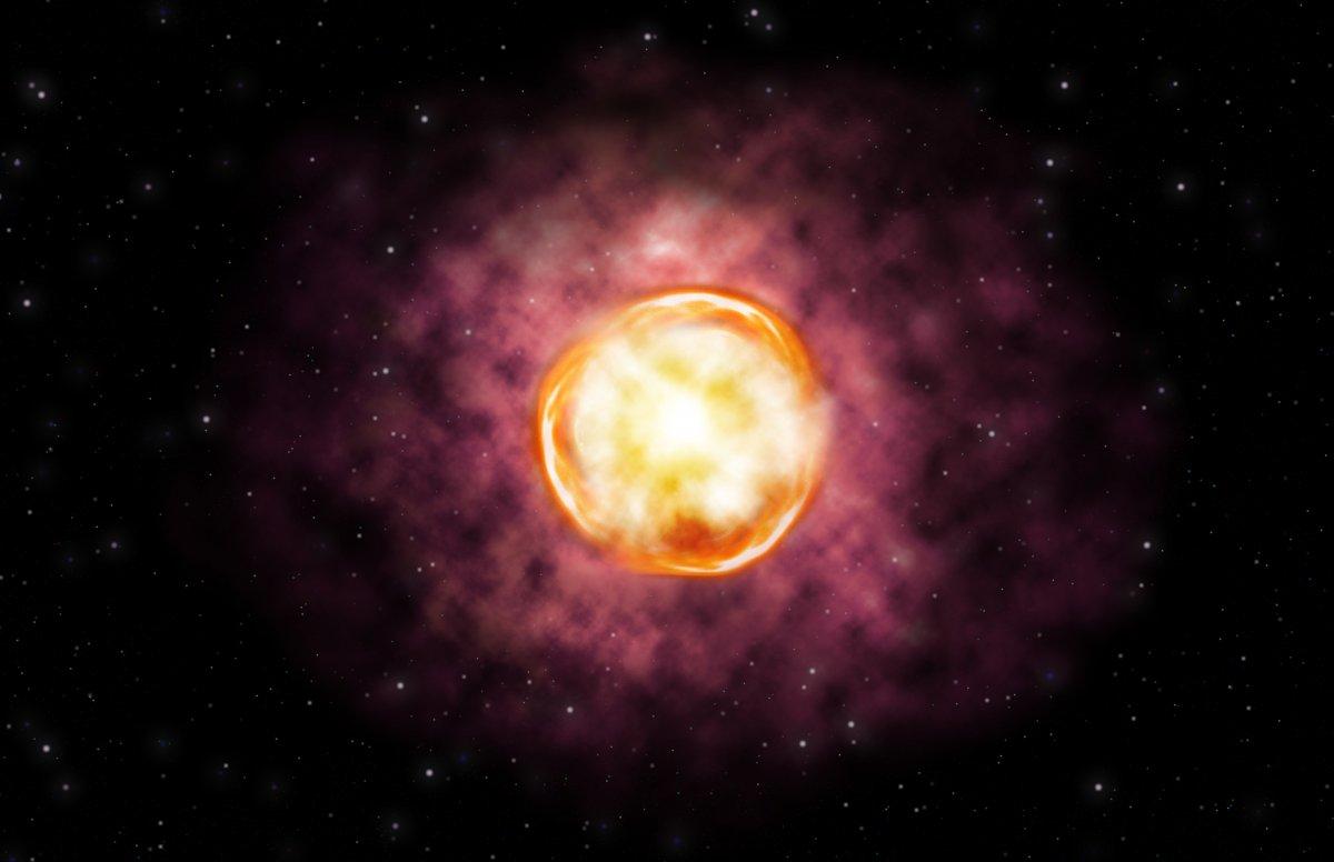 Astronomie: Außergewöhnlich helle und ungewöhnlich abgelegene Supernova entdeckt