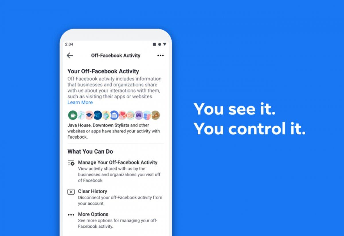 Facebook gibt Nutzern mehr Kontrolle über verknüpfte Daten