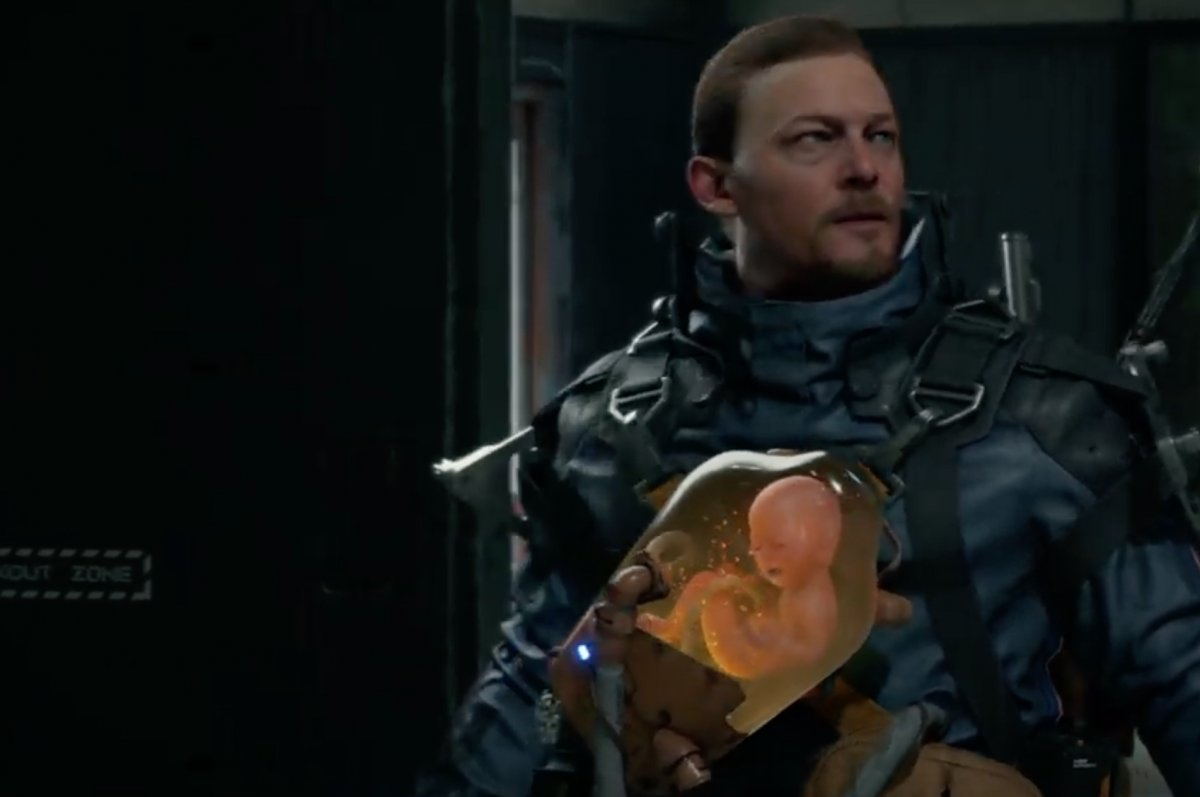 Image result for death stranding baby