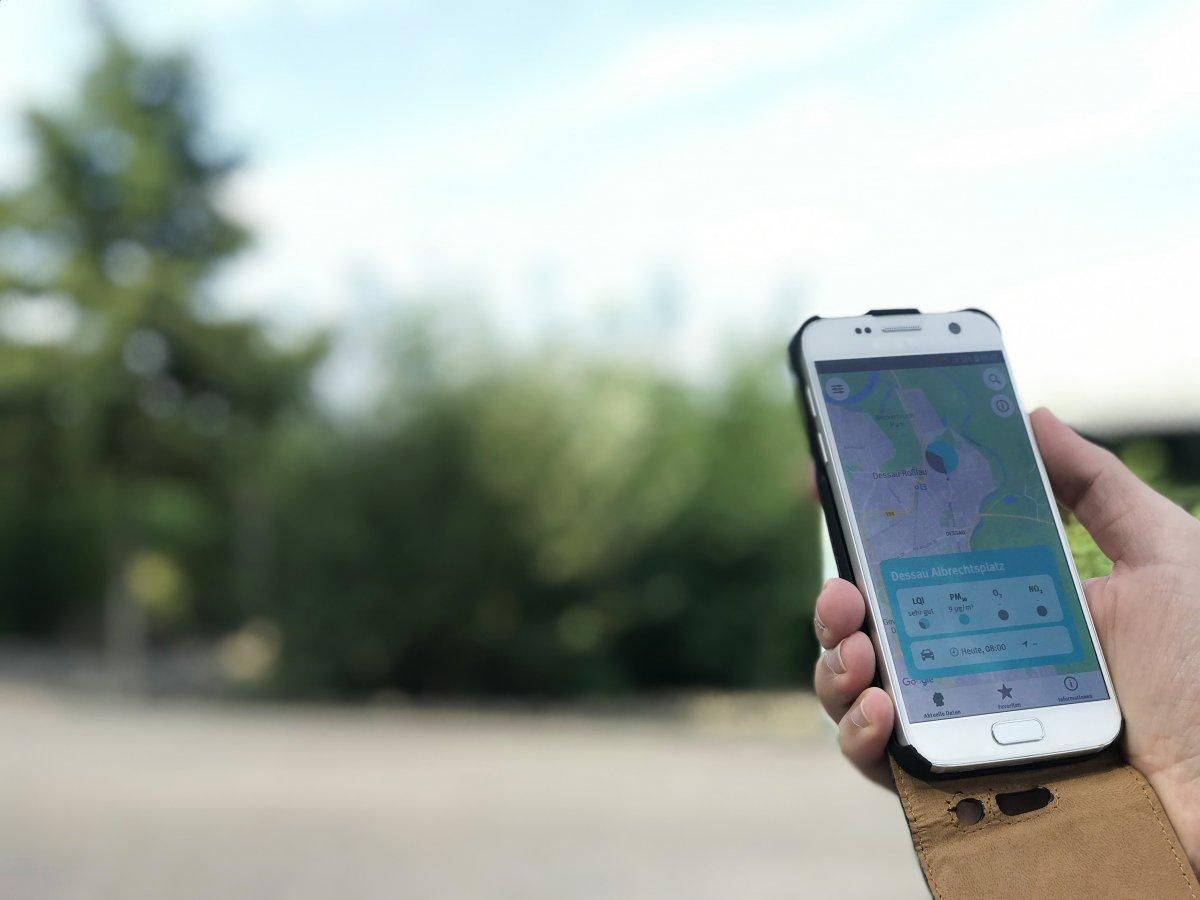 Umweltbundesamt: App für iOS und Android zeigt Luftqualität in Deutschland