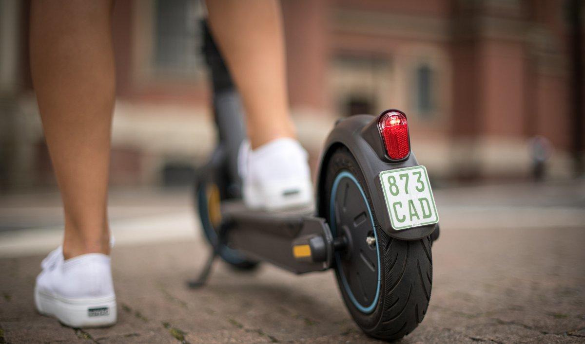 E-Scooter von Segway-Ninebot mit Straßenzulassung