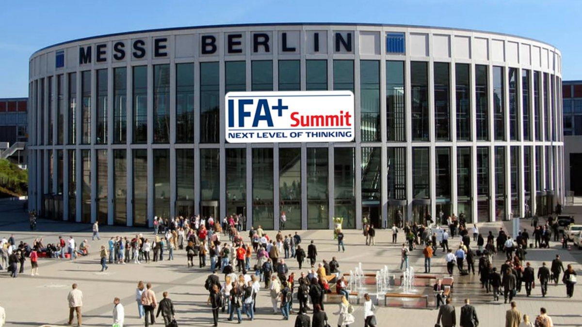 IFA+ Summit: Visionen einer datengesteuerten Zukunft