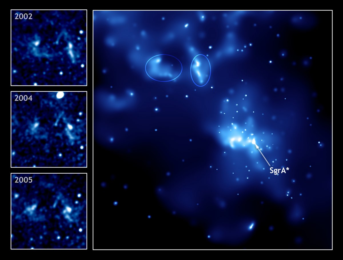 Schwarzes Loch im Zentrum der Milchstraße wird offenbar hungriger