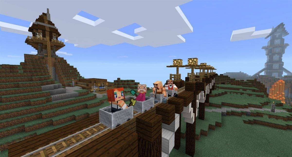 Minecraft hat 112 Millionen Spieler im Monat