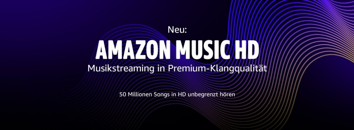 "Amazon Music startet ""Musikstreaming in Premium-Klangqualität"""