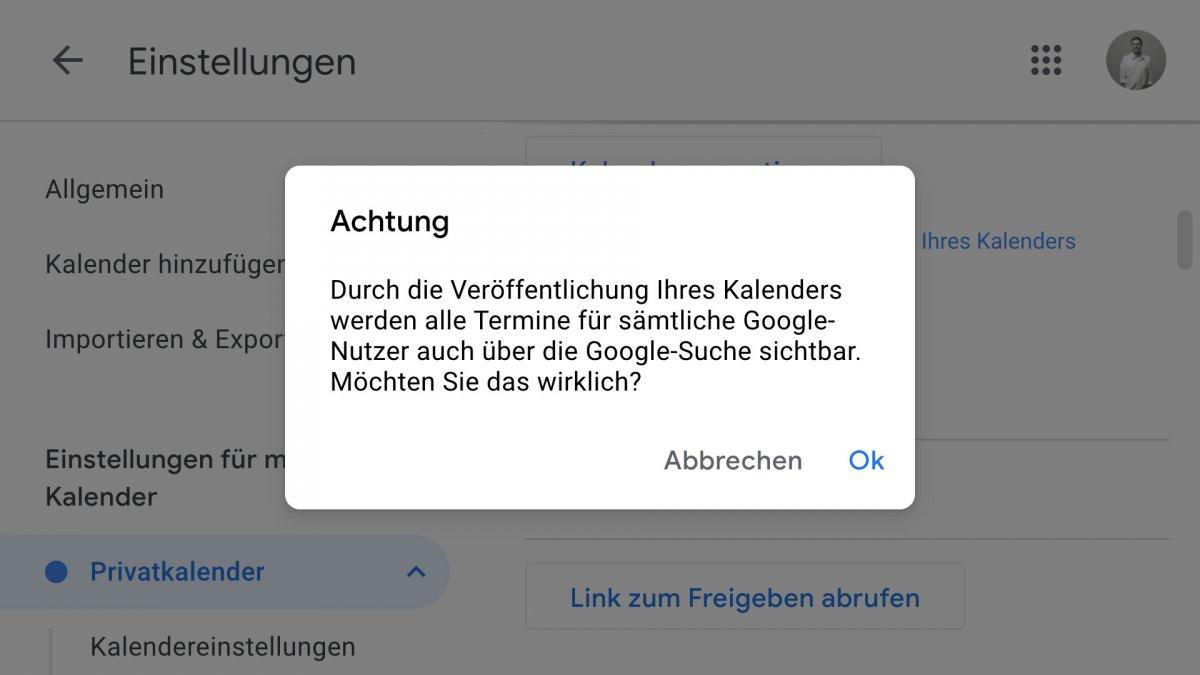 Falsch konfiguriert: Tausende Google-Kalender offen zugänglich