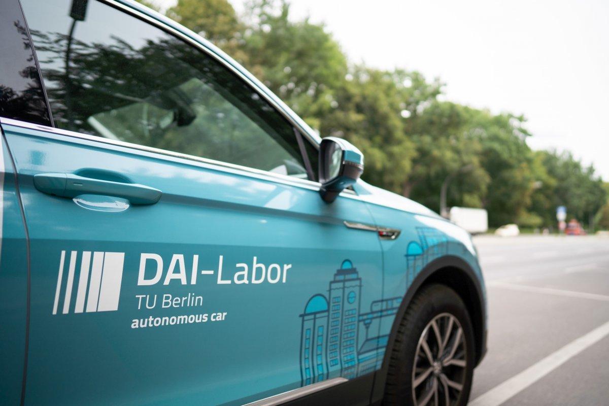 Teststrecke für automatisiertes Fahren mitten in Berlin