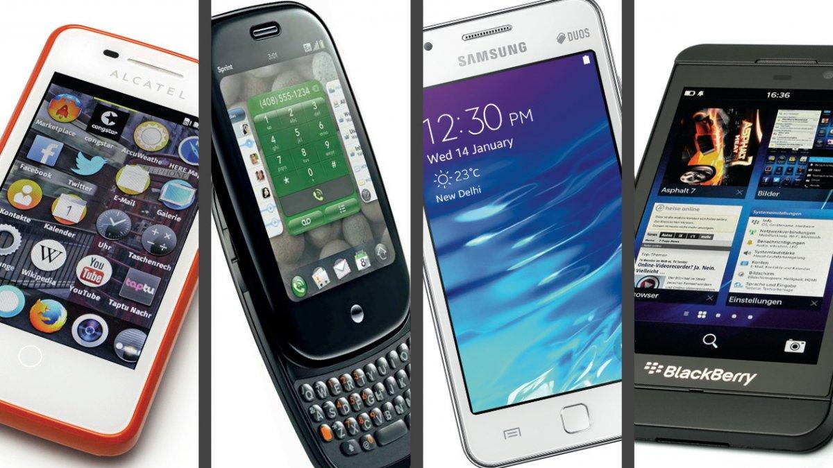 Missing Link: Was ist eigentlich aus alten Smartphone-Betriebssystemen geworden?