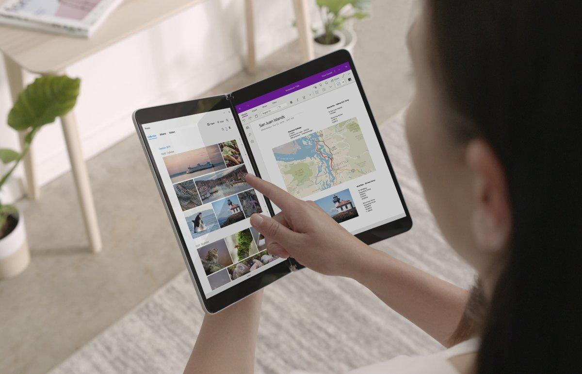 Surface Neo und Duo: Microsoft zeigt Dual-Screen-Geräte mit Windows und Android
