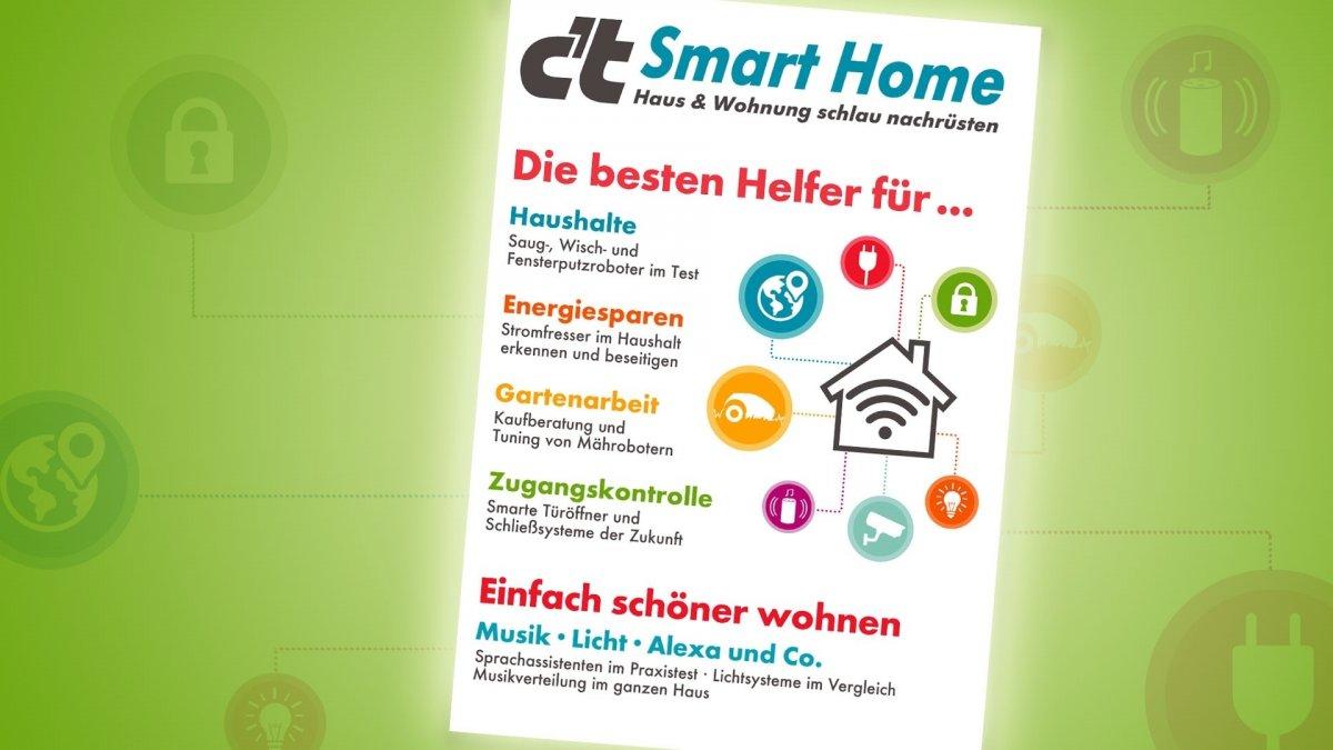 c't Smart Home testet smarte Haushaltshelfer