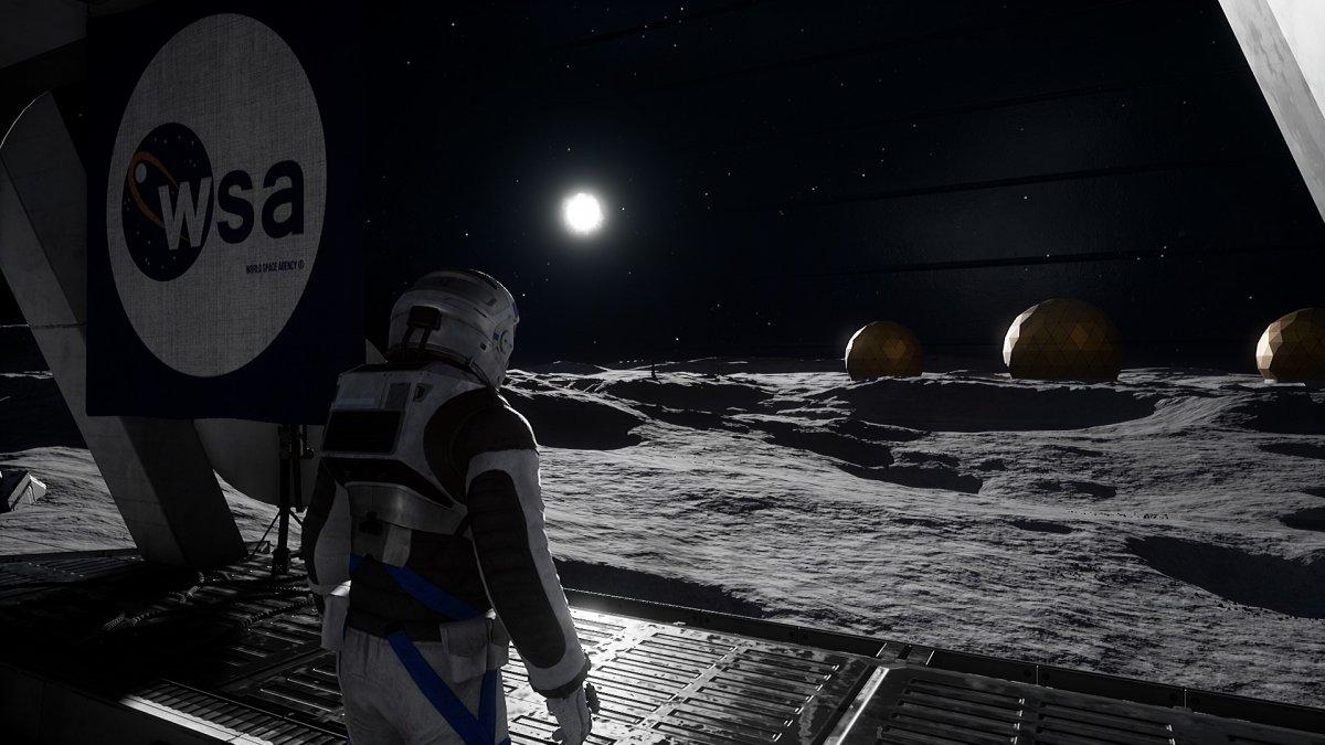 Deliver us the Moon durchgespielt: Mann im Mond