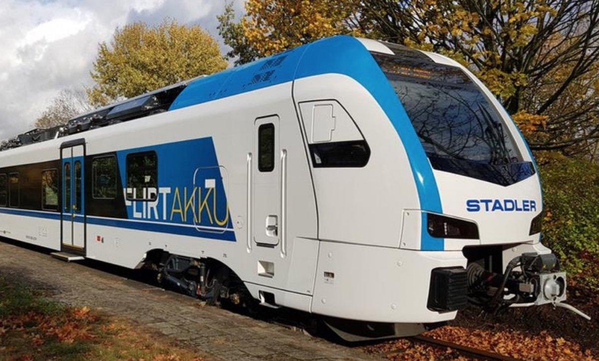 Schleswig-Holstein soll 55 Akku-Elektrozüge bekommen