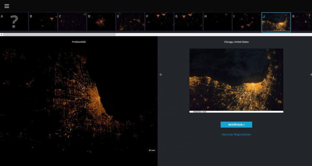 Erde bei Nacht: Forscher suchen wieder Hilfe bei Lokalisierung von ISS-Aufnahmen