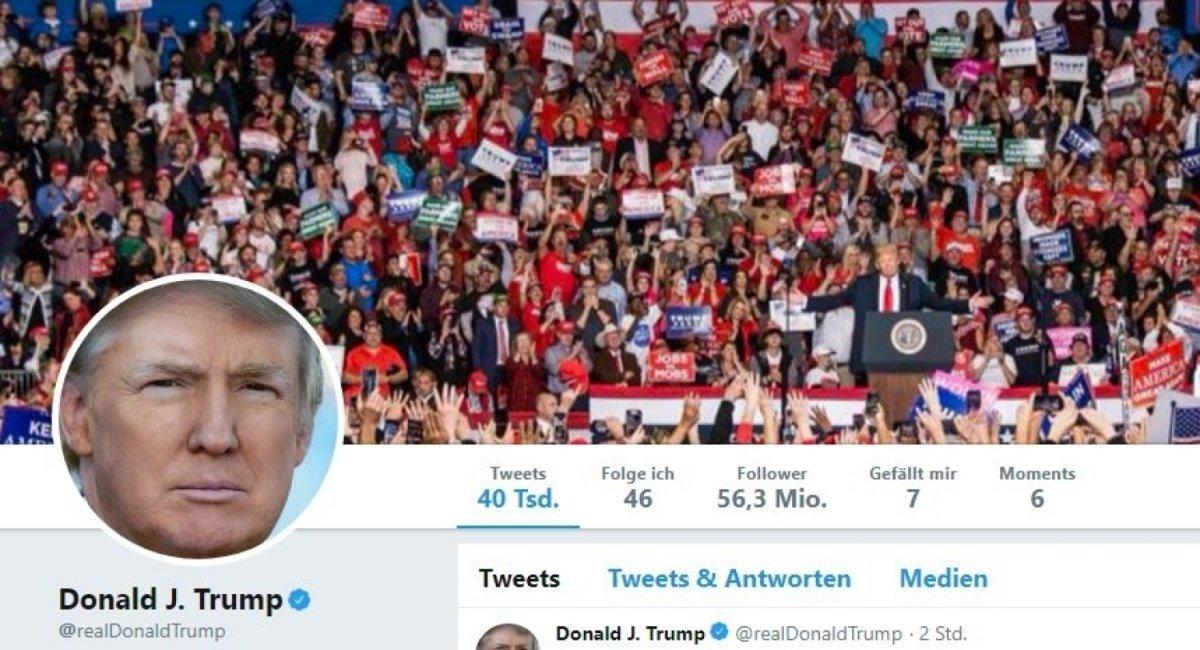 Missing Link: Folgen Sie Trump, Trump und Trump auf Twitter
