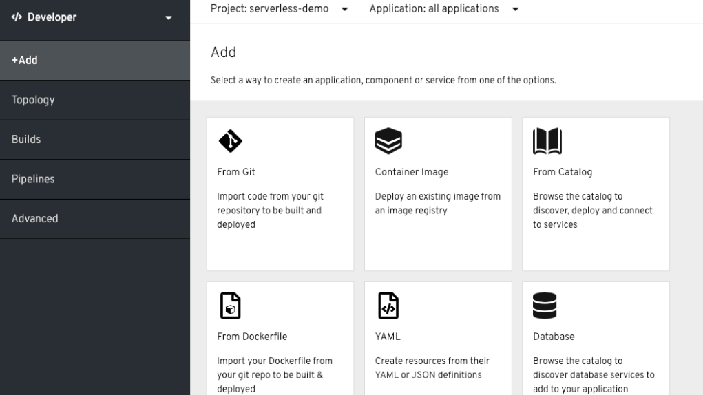 OpenShift 4.2 mit neuen Developer-Tools