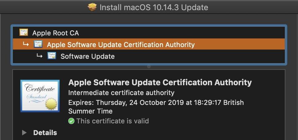Apple: Wichtige Sicherheitszertifikate laufen aus