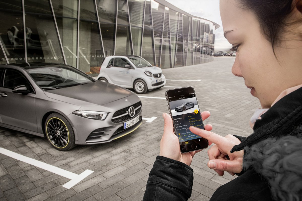 """""""Mercedes me"""": Auto-App zeigte fremde Nutzerdaten an"""