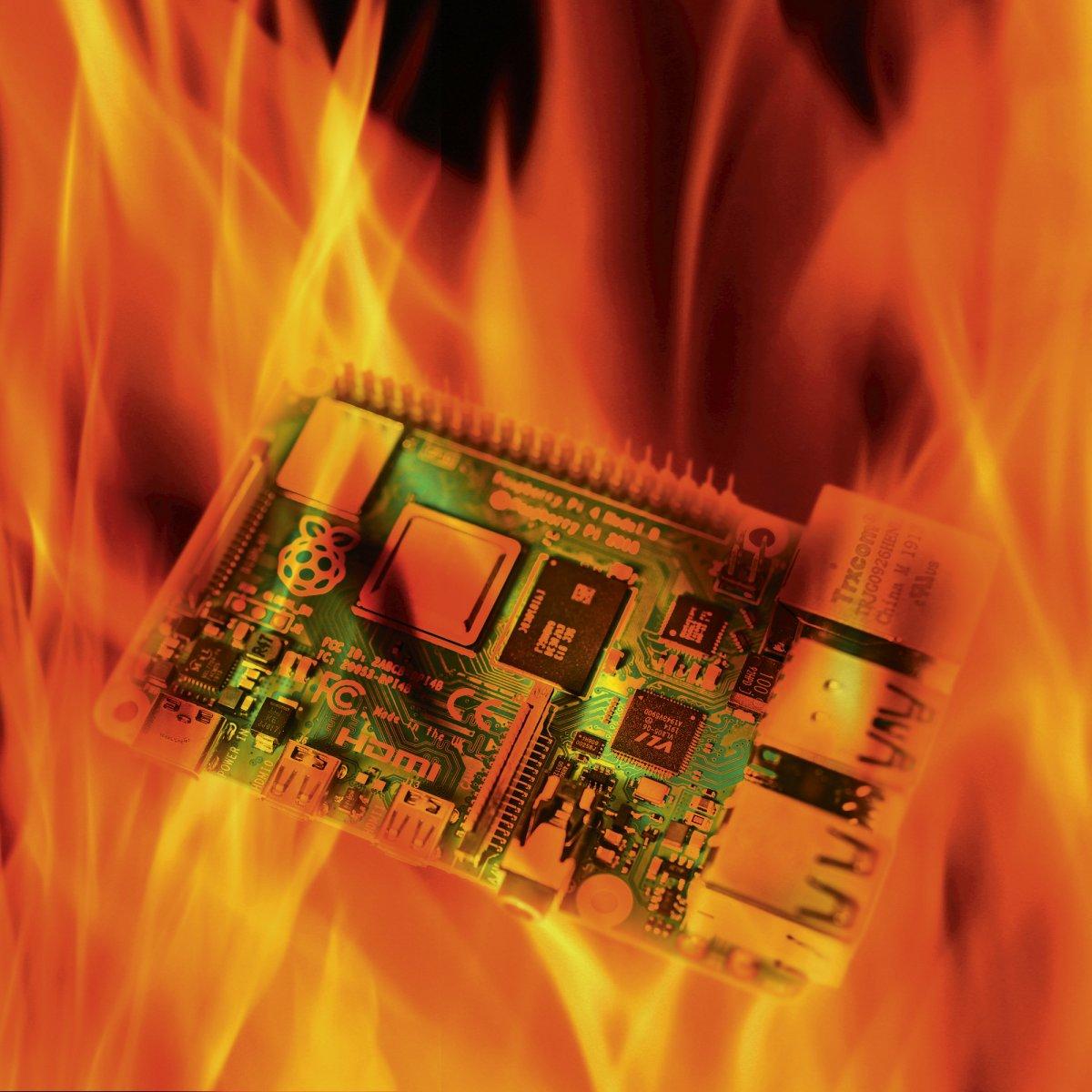 Bastelrechner hochgetaktet: Raspberry Pi mit 2100 MHz