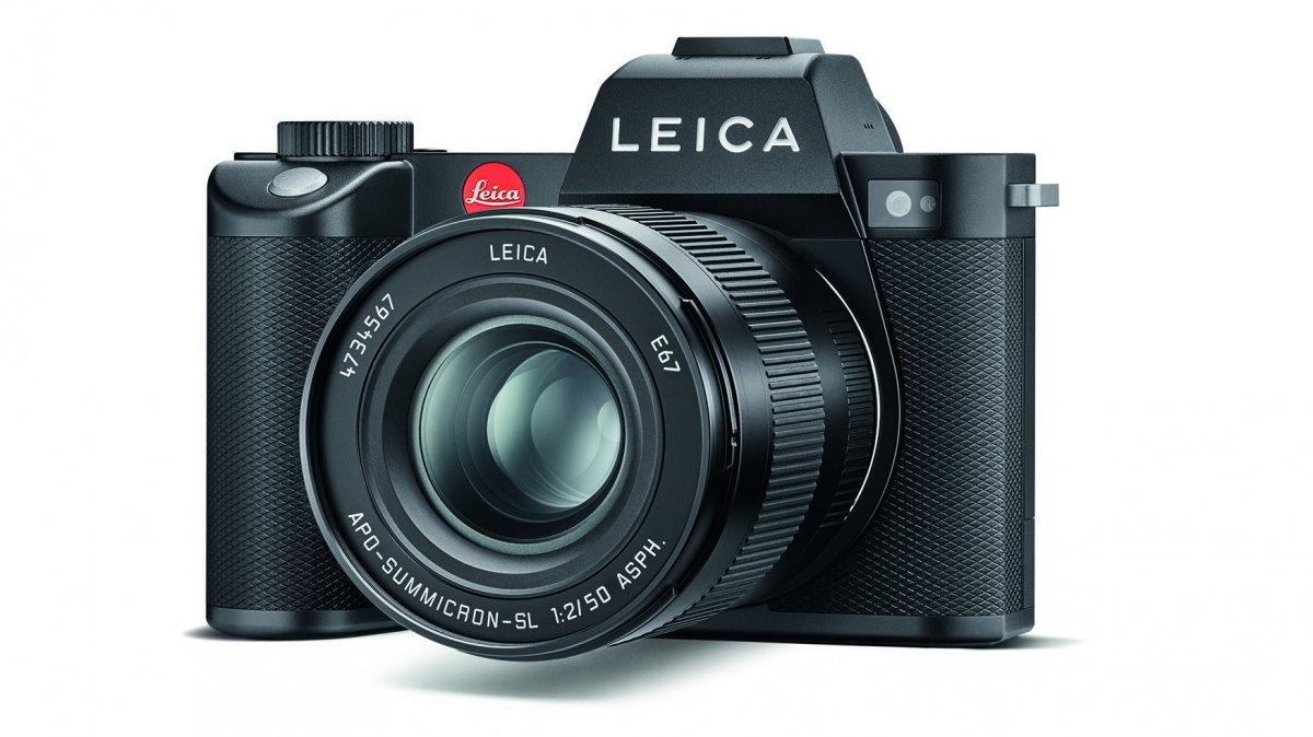 Leica SL2: Spiegellose Systemkamera mit 47 Megapixeln, gefertigt in Deutschland
