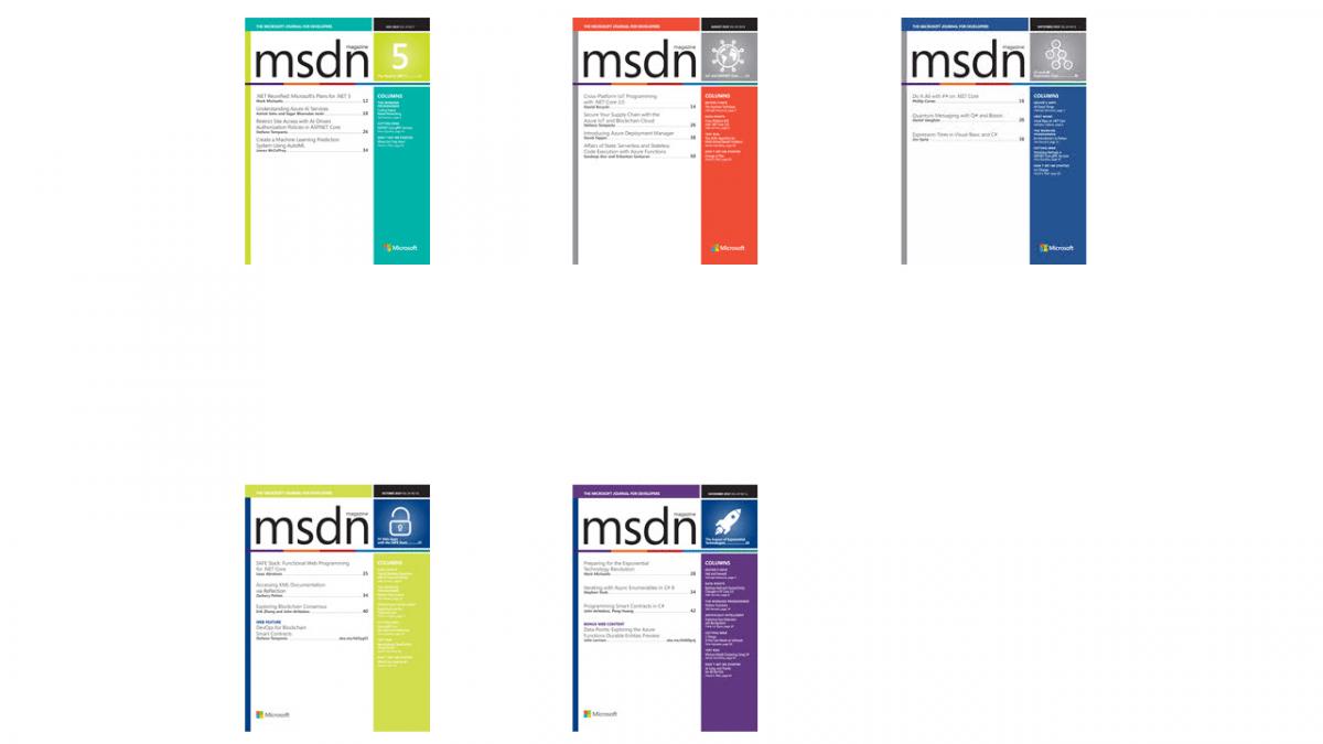 Bye bye MSDN Magazine, hallo Archiv!