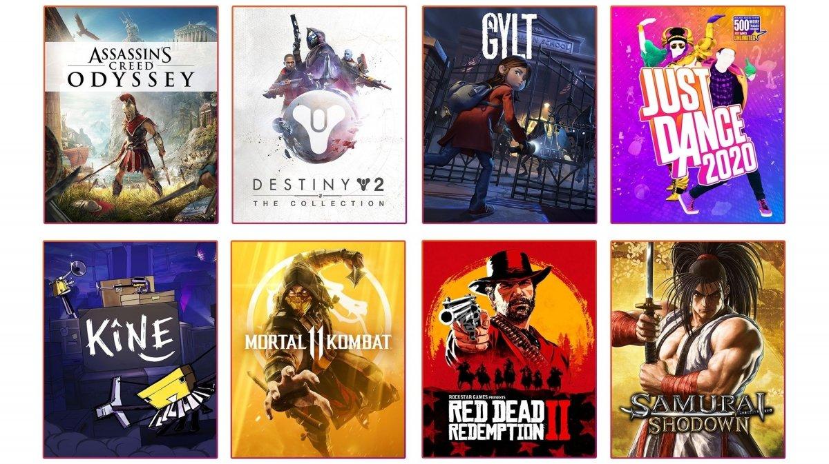 Google-Stadia: Cloud Gaming hat zum Start 12 Spiele