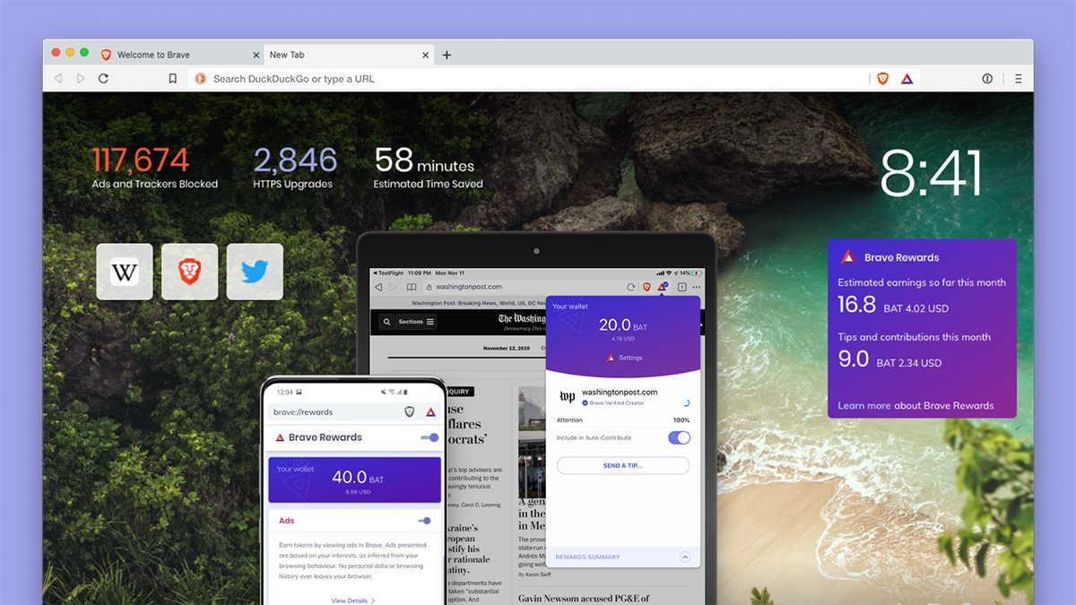 Brave 1.0: Browser blockiert Werbung und Tracker
