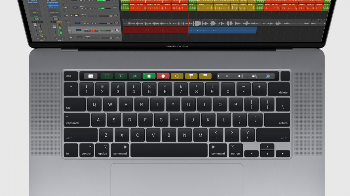 MacBook Pro 16 Zoll: Anpassbare Refresh-Rate und ein Blick unter die Key Caps