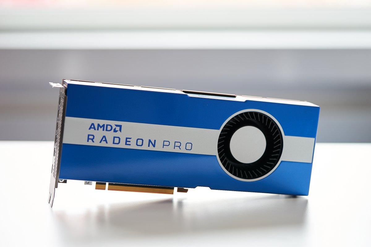 Grafikkarte Radeon Pro W5700: AMD bringt 7-nm-Technik für Workstations